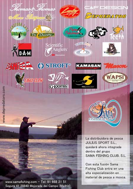 Sama Fishing Club y Julius Sport Mosca