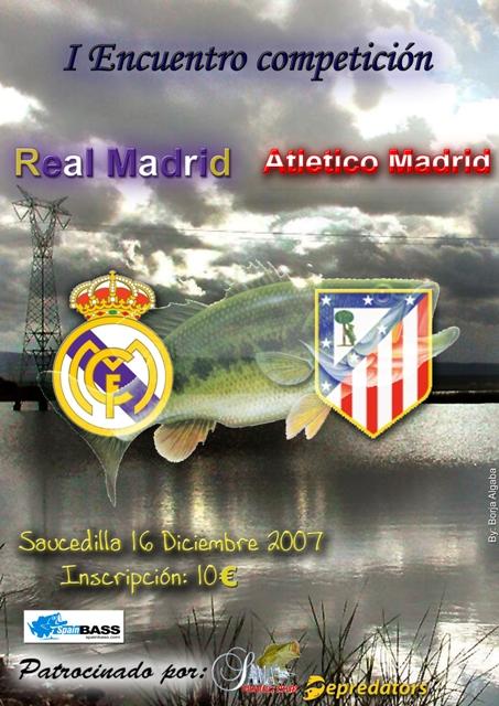 Cartel I Encuentro Competición Real Madrid-Atlético de Madrid