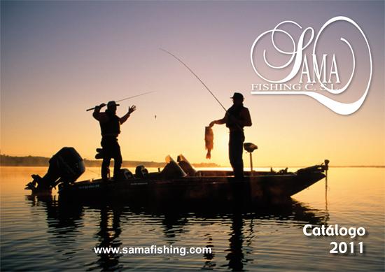 fe0b33cee268 Catálogo Sama Fishing 2011
